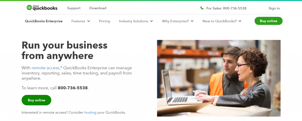 QuickBooks Desktop Enterprise Review