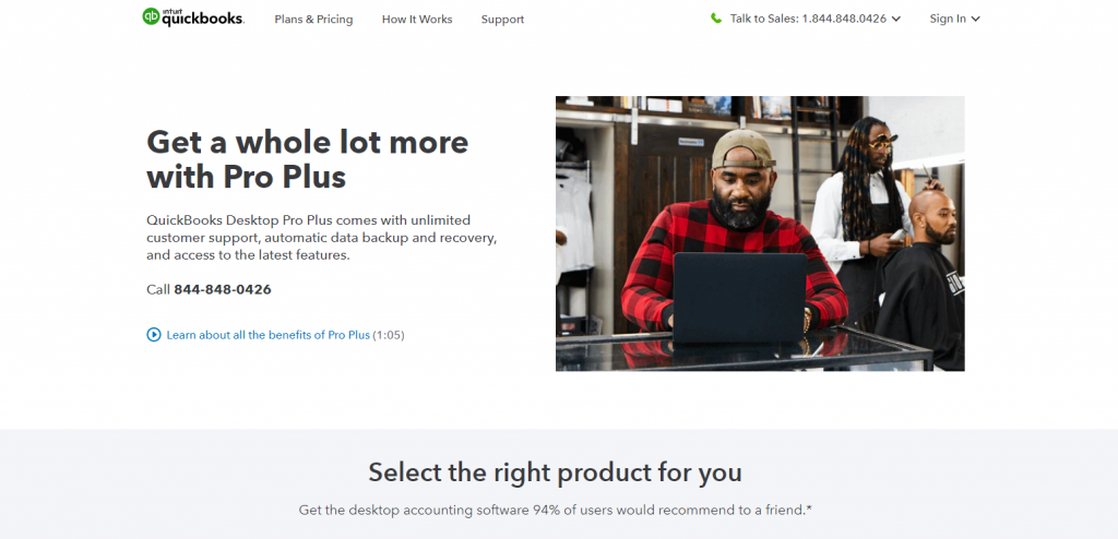 QuickBooks Desktop Pro Review