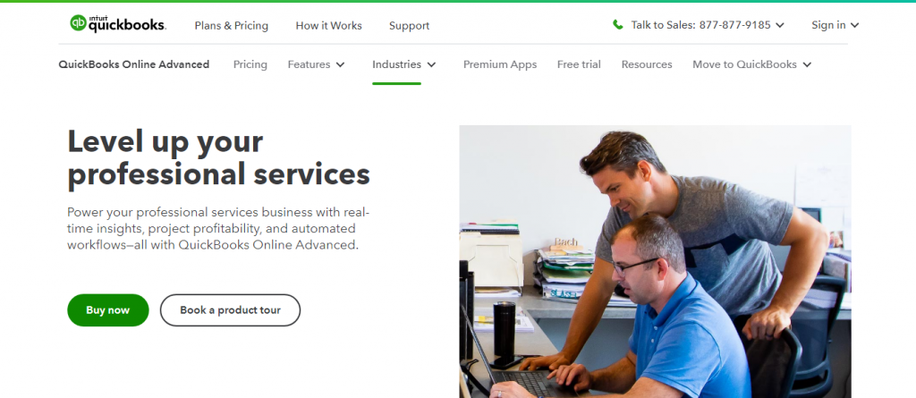 QuickBooks Online Advanced Review