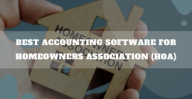 Accounting Software For Homeowners Association (HOA)