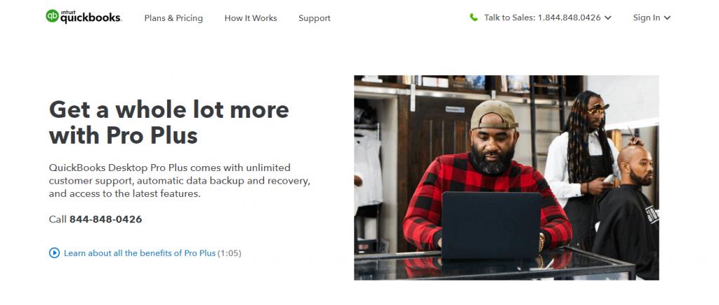 QuickBooks Desktop Pro Plus  Review