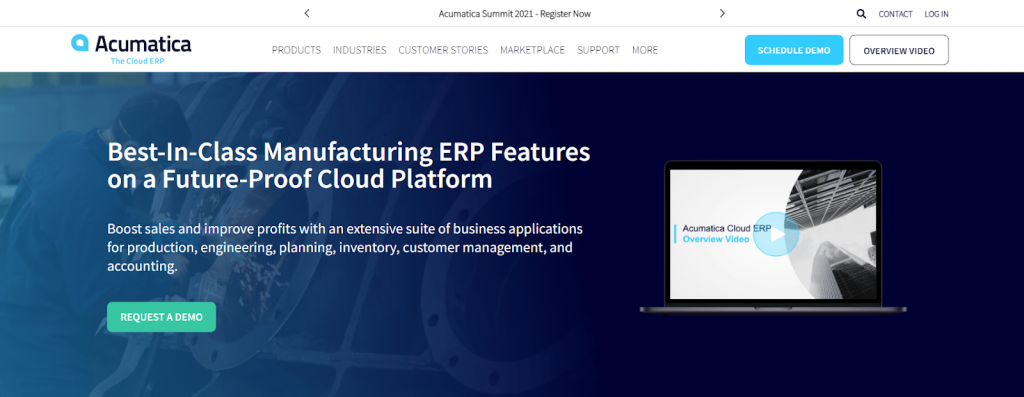Acumatica Manufacturing Edition Review
