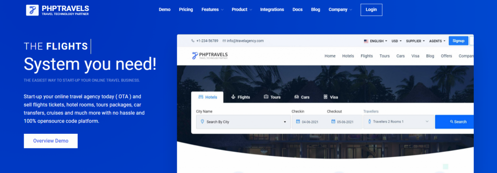 PHPTRAVELS Review