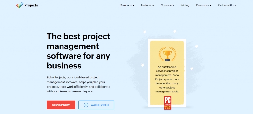 Zoho Projects Review