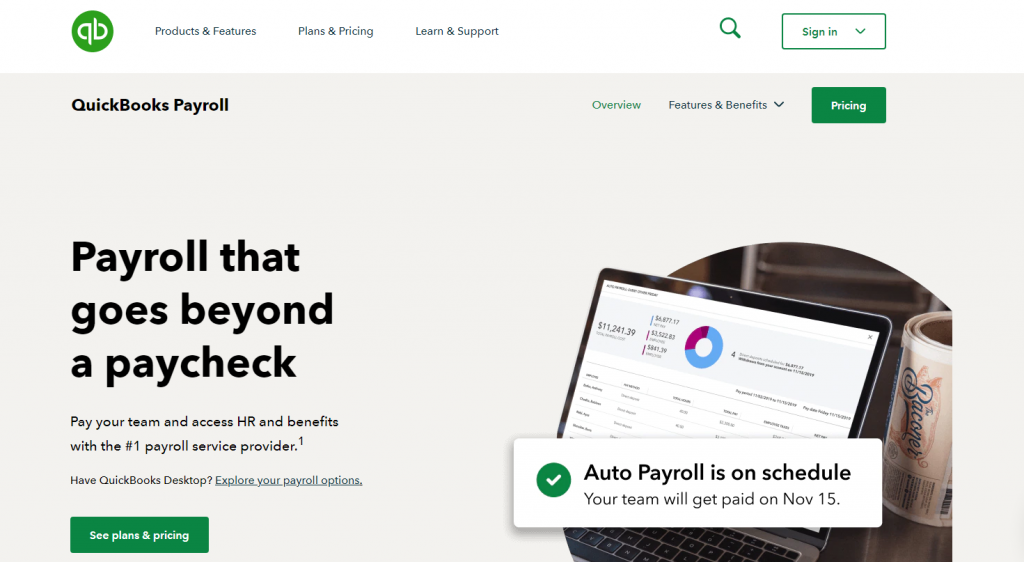 Quickbooks Online Payroll Review