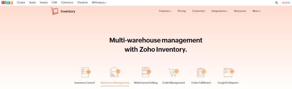 Zoho Inventory Review