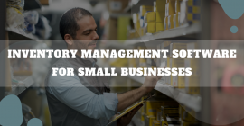 Inventory Management Software For Small Businesses